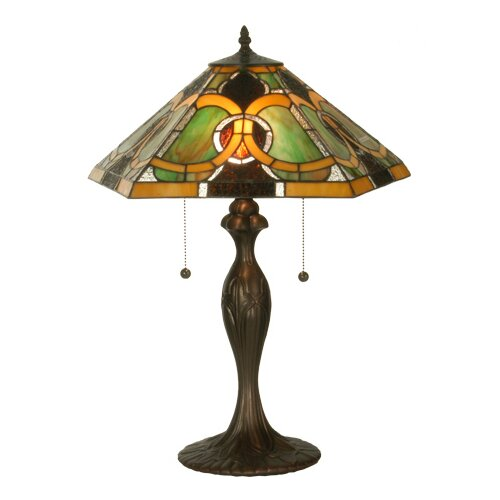 "Meyda Tiffany Tiffany 22.5"" H Moroccan Table Lamp"
