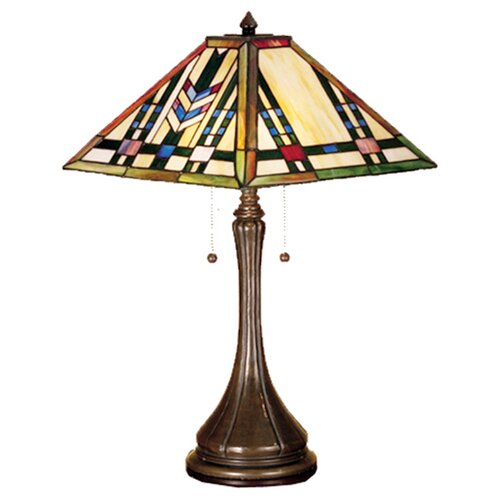 Meyda Tiffany Prairie Wheat Table Lamp