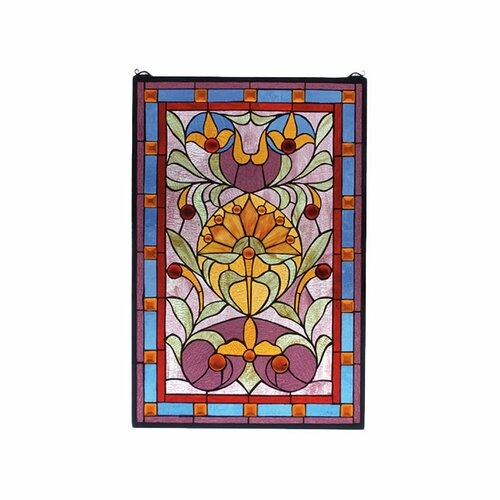 Meyda Tiffany Victorian Picadilly Stained Glass Window