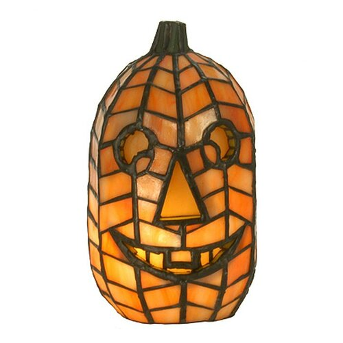 Meyda Tiffany Jack O'Lantern Accent Table Lamp