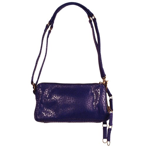 Latico Leathers Barclay Minnie Triple Compartment Cross-Body Bag