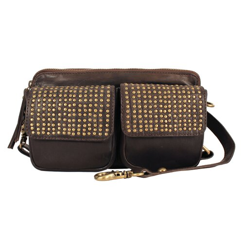 Mimi in Memphis Delilah Industry Dual Flap Cross-Body