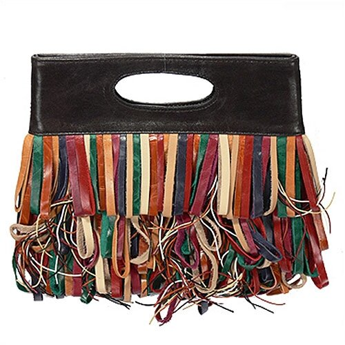 Latico Leathers Le Cirque Fringe Clutch