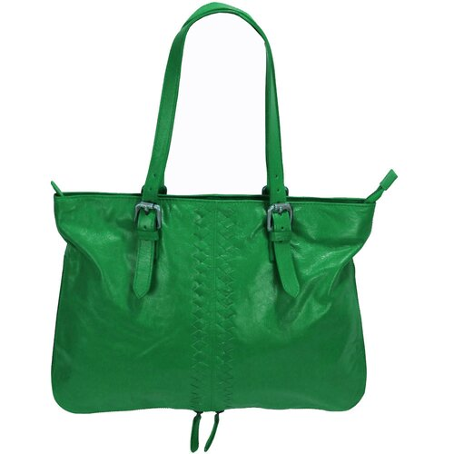 Latico Leathers Henrietta Mimi in Memphis East / West Tote Bag