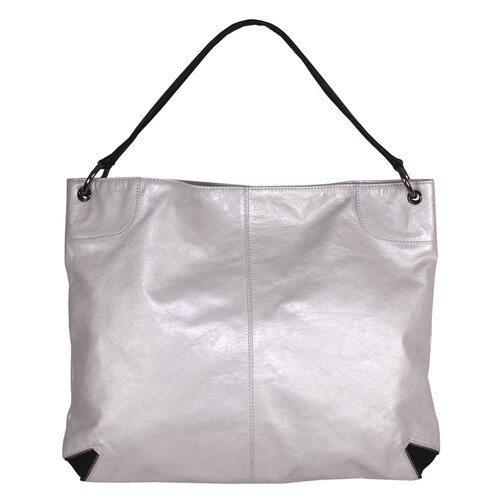 Rosie Metallic Block Square Tote Bag