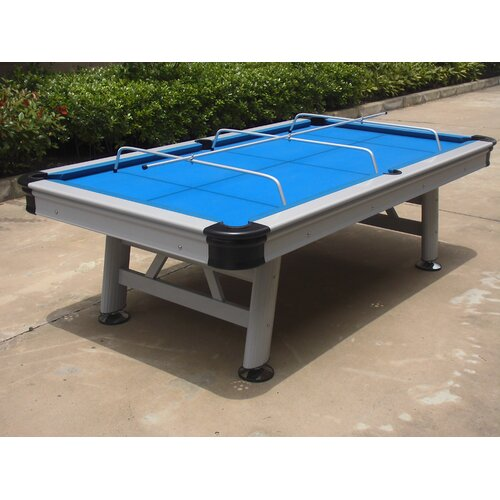 Playcraft Extera Outdoor 8 39 Pool Table With Playing Equipment Revie