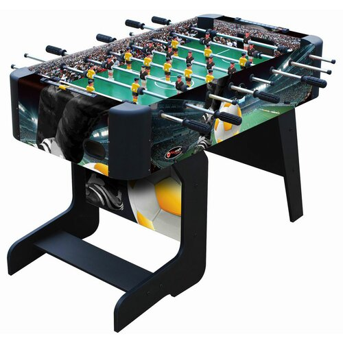 Sport Foosball Table with Folding Leg