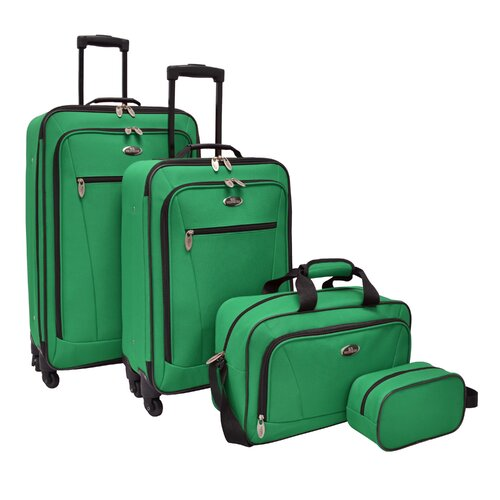 U.s. traveler castelon 4-piece spinner luggage set kohls