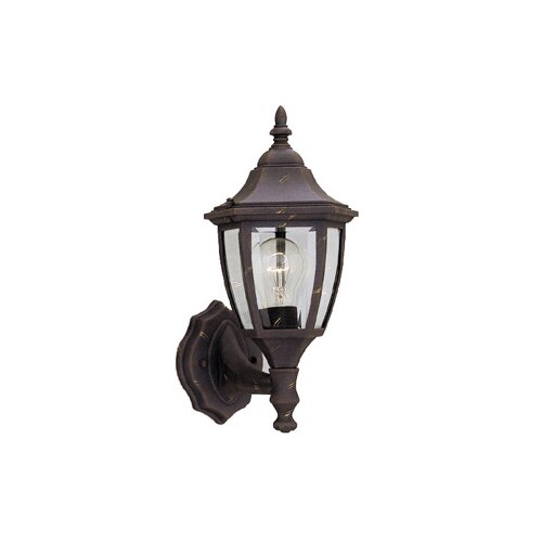 Designers Fountain Budget Cast Aluminum Uplight Wall Lantern