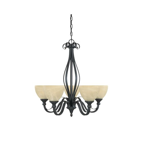 Designers Fountain Del Amo 5 Light Chandelier