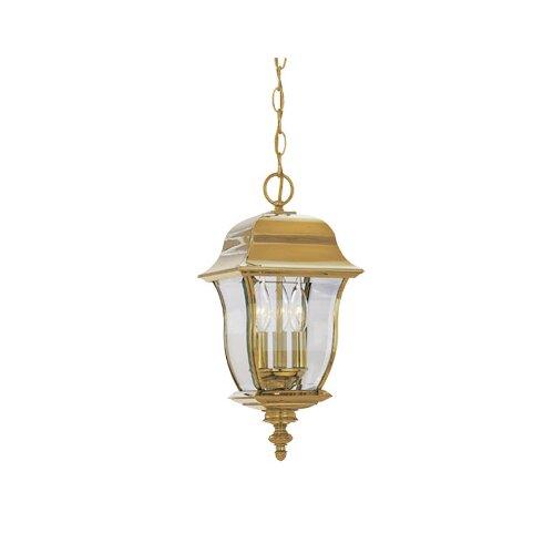 Designers Fountain Gladiator 3 Light Hanging Lantern