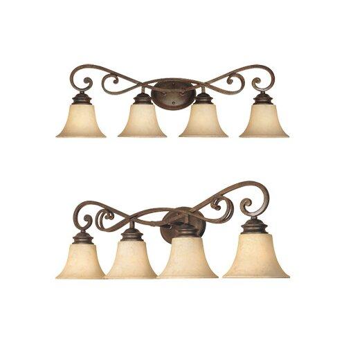 Designers Fountain Mendocino 4 Light Vanity Light