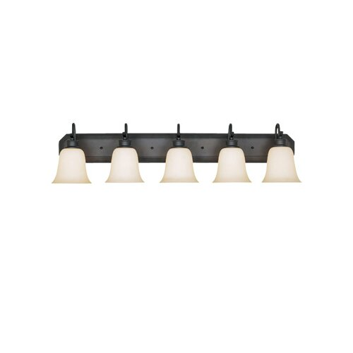 Designers Fountain Montego 5 Light Vanity Light