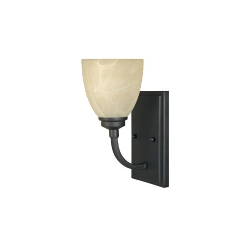 Designers Fountain Tackwood 1 Light Wall Sconce