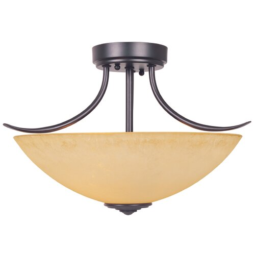 Designers Fountain Madison 2 Light Semi-Flush Mount