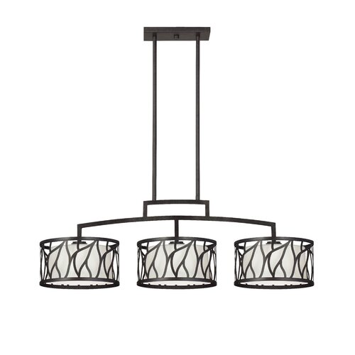 Designers Fountain Modesto 3 Light Kitchen Island Pendant