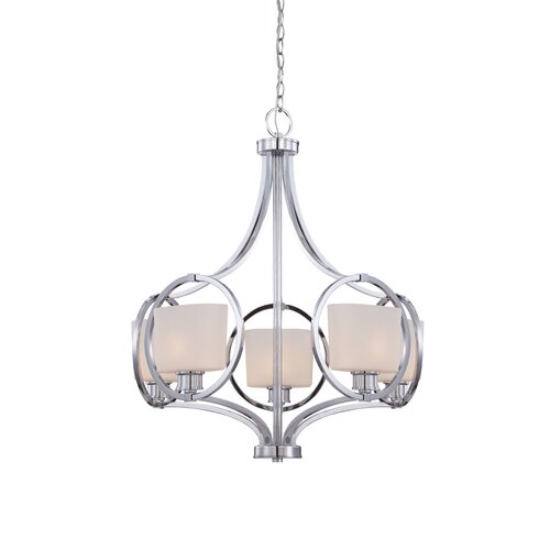 Designers Fountain Mirage 5 Light Chandelier