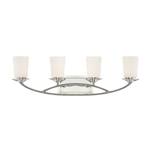 Designers Fountain Palatial 4 Light Bath Vanity Light