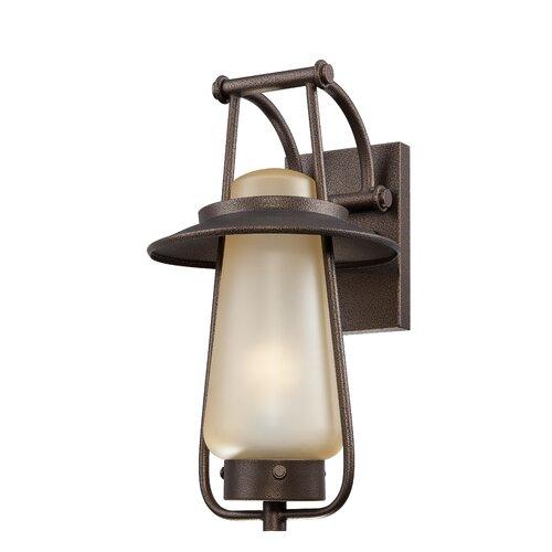 Designers Fountain Stonyridge 1 Light Outdoor Wall Lantern
