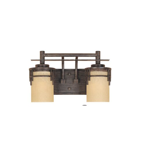 Designers Fountain Mission Ridge 2 Light Vanity Light