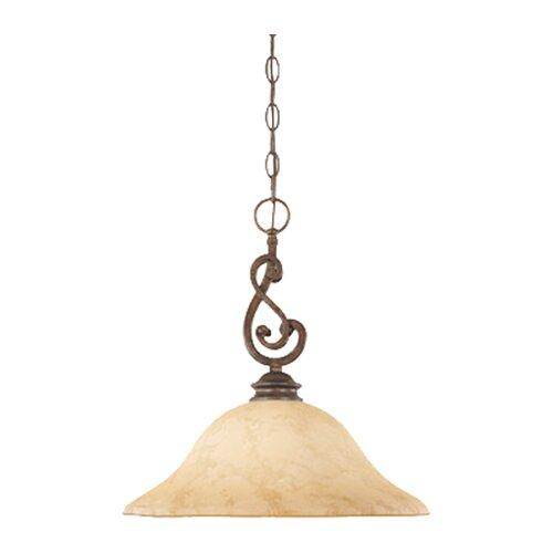 Designers Fountain Mendocino 1 Light Down Light Pendant