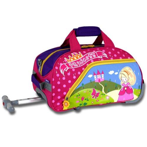 Princess Kid's Rolling Duffel