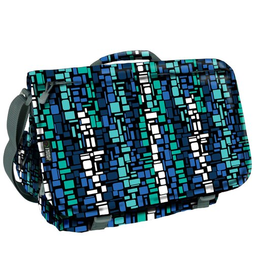 Thomas Squares Messenger Bag
