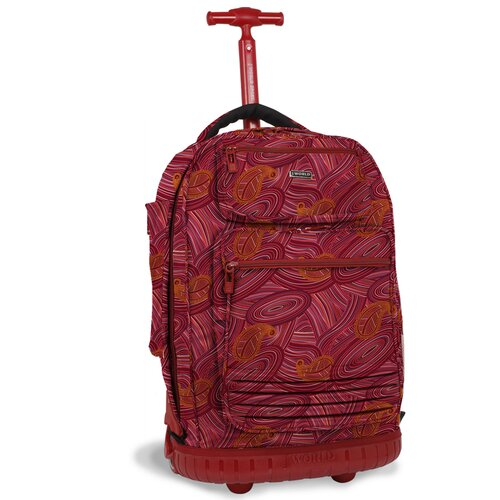 J World Parkway Laptop Rolling Backpack