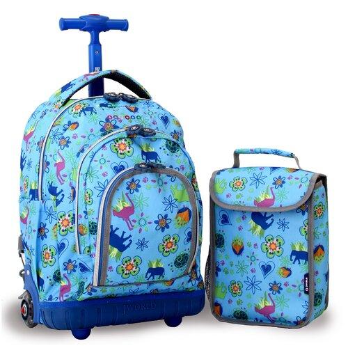 J World Lollipop 2 Piece Kid's Rolling Luggage Set