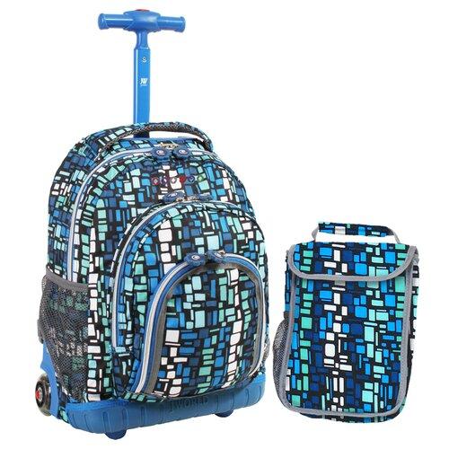 Lollipop 2 Piece Kids Rolling Luggage Set