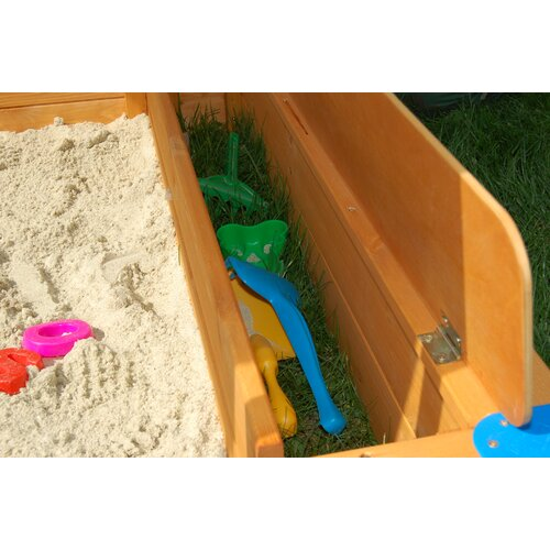 Exaco Maxi Square Sandbox with Cover