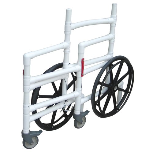 MJM International Emergency Preparedness De Con Bariatric Wheelchair