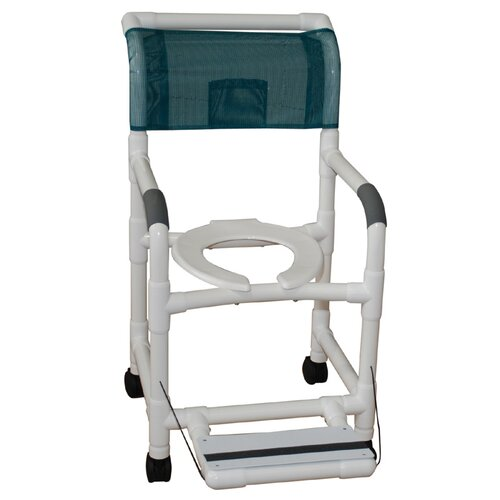 Standard Deluxe Shower Chair with Footrest