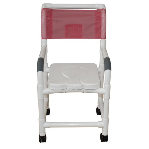Standard Deluxe Shower Chair with Dual Use Soft Seat