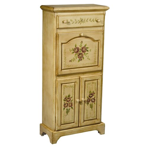 AA Importing Floral Secretary Desk