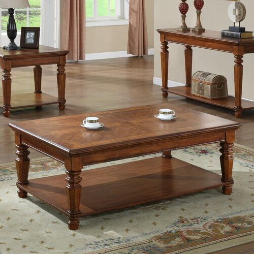 kathy ireland Home by Vaughan Pennsylvania Country Coffee Table