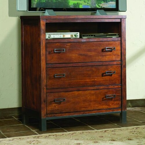 kathy ireland Home by Vaughan Rustic Lodge 3 Drawer Dresser