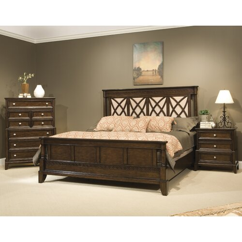 kathy ireland Home by Vaughan Jackson Square 3 Drawer Nightstand