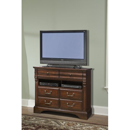 kathy ireland Home by Vaughan Washington Manor 6 Drawer Media Chest