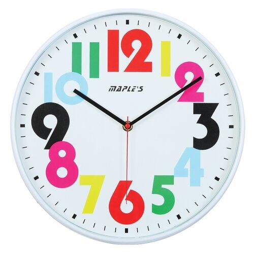 """Maples Clock 12"""" Wall Clock"""