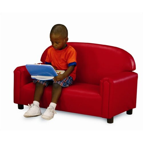 "Brand New World ""Just Like Home"" Vinyl Upholstery Sofa (Toddler, Preschool & School-Age)"