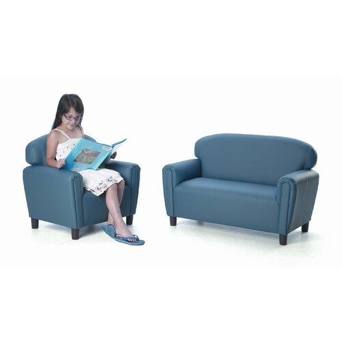 "Brand New World ""Just Like Home"" Enviro-Child Upholstery Chair (Toddler, Preschool, School Age)"