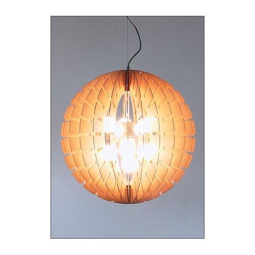 B.Lux Helios 60 Wood Pendant Light