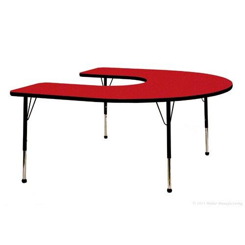 "Mahar 66"" x 60"" Horseshoe Table"