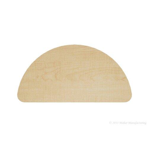 "Mahar 48"" x 24"" Half Round Classroom Table"