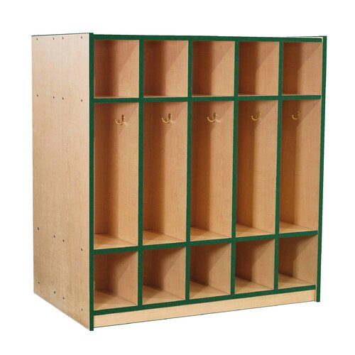 Mahar Double-Sided Locker with Top and Bottom Cubbies