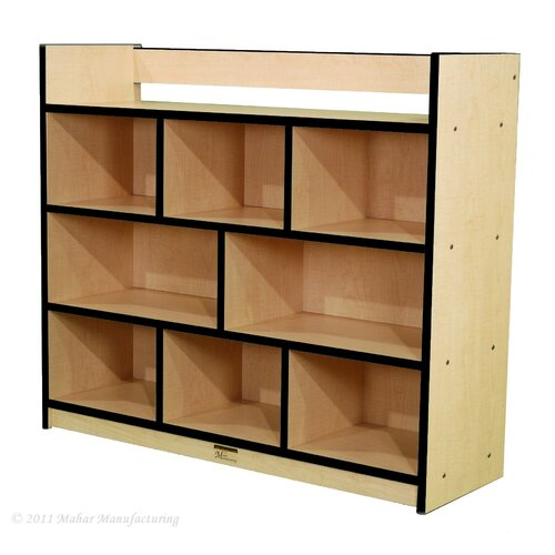 Mahar Youth Single-Sided Storage Unit with Book Rack