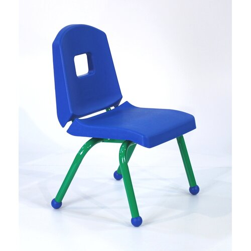 "Mahar 10"" Creative Colors Split Bucket Stack Chair"