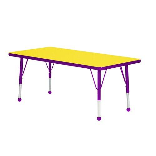 "Mahar 36"" x 24"" Rectangular Classroom Table"