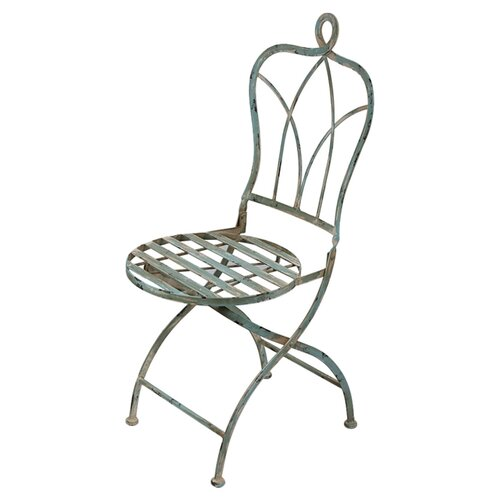 Privilege Iron Folding Bistro Chair